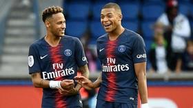 Lấy trọn Neymar và Kylian Mbappe là cú sốc lớn nhất mà giới quan sát có thể tưởng tượng về Real. Ảnh: Getty Images