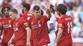 Xherdan Shaqiri, Roberto Firmino và Mohamed Salah trở lại đã cải thiện Liverpool. Ảnh: Getty Images