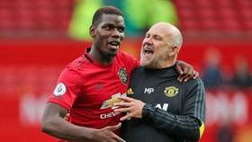 Paul Pogba khẳng định luôn hạnh phúc nếu ở lại Man.United. Ảnh: Getty Images