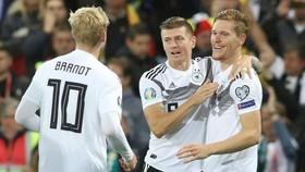 Tuyển Đức giành chiến thắng kịp lúc trên sân Bắc Ailen. Ảnh: Getty Images