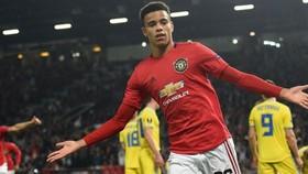 Mason Greenwood giải cứu Man.United khỏi trận hòa sốc. Ảnh: Getty Images