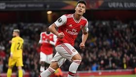 Tài năng trẻ Gabriel Martinelli đang tỏa sáng rực rỡ tại Arsenal. Ảnh: Getty Images