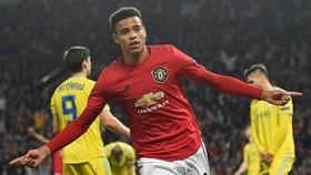 Mason Greenwood được kỳ vọng là tương lai của Man.United. Ảnh: Getty Images