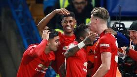 Man.United thật sự gây ấn tượng sau chiến thắng tại Chelsea ở Cúp Liên đoàn. Ảnh: Getty Images