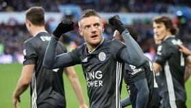 Jamie Vardy tiếp tục truyền cảm hứng để giúp Leicester tiến đi. Ảnh: Getty Images
