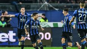 Atalanta trong lần đầu tham dự Champions League đã giành quyền góp mặt ở vòng 1/8. Ảnh: Getty Images