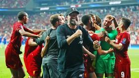 HLV Jurgen Klopp thật sự đang tạo nên một đội hình có khả năng bất khả chiến bại. Ảnh: Getty Images