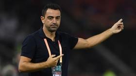 Xavi nhận thấy vẫn chưa sẵn sàng thành công cùng Barcelona trên cương vị mới. Ảnh: Getty Images