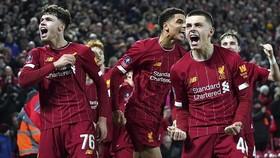 Các cầu thủ trẻ măng của Liverpool gây ấn tượng. Ảnh: Getty Images