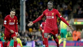 Sadio Mane giúp Liverpool tiếp tục hành trình chinh phục kỷ lục. Ảnh: Getty Images