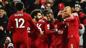 Liverpool vẫn biết cách giành chiến thắng trong mọi hoàn cảnh. Ảnh: Getty Images