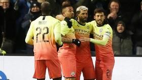 Ra sân với đội hình mạnh nhất tại Sheffield Wednesday, Man.City đang tập trung toàn lực bảo vệ danh hiệu FA Cup. Ảnh: Getty Images