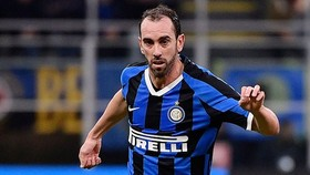 Trung vệ Diego Godin của Inter Milan. Ảnh: Getty Images