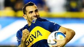 Carlos Tevez trong thời điểm cuối sự nghiệp cùng Boca Juniors. Ảnh: Getty Images