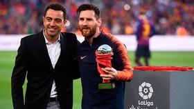 Xavi tin rằng Lionel Messi vẫn còn rất nhiều năm đinh cao ở phía trước. Ảnh: Getty Images