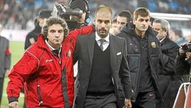 Juanma Lillo và Pep Guardiola từng đấu trí nhau ở La Liga.