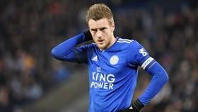 Jamie Vardy chịu áp lực trước cột mốc 100 bàn ở Premier League. Ảnh: Getty Images