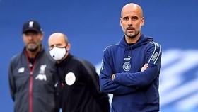 HLV Pep Guardiola tự tin Man.City có thể lật ngược lệnh cấm Champions League. Ảnh: Getty Images