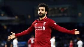 Mohamed Salah quyết tâm hướng đến Giầy vàng thứ 3 liên tiếp. Ảnh: Getty Images