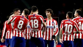 Chưa xác định liệu có cầu thủ nào của Atletico Madrid dương tính hay không. Ảnh: Getty Images