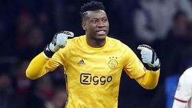 Sự xuất sắc của thủ thành Andre Onana đã góp sức vào thành công gần đây của Ajax. Ảnh: Getty Images
