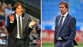 HLV Antonio Conte và Julen Lopetegui đều mong chờ một chiến thắng.