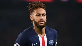 Neymar đã tìm thấy hạnh phúc ở Paris SG. Ảnh: Getty Images