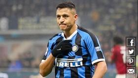Alexis Sanchez tìm thấy hạnh phúc tại Inter Milan bằng bản hợp đồng 3 năm hồi đầu tháng 8. Ảnh: Getty Images