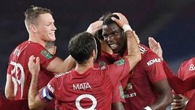 Man.United đã thể hiện sự vượt trội về chất lượng chiều sâu đội hình so với Brighton. Ảnh: Getty Images