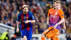 Lionel Messi và Kevin De Bruyne từng đối đầu ở cấp CLB lẫn đội tuyển. Ảnh: Getty Images