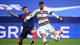 Cristiano Ronaldo không thể giúp Bồ Đào Nha giành chiến thắng tại Pháp. Ảnh: Getty Images