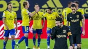 Barcelona của Lionel Messi đã phải hứng chịu thất bại thứ 4 trong mùa giải.