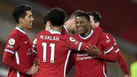 Liverpool ghi trận thắng lớn nhất mùa giải và không thủng lưới. Ảnh: Getty Images