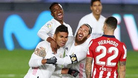 Real Madrid giành chiến thắng thuyết phục 2-0 trên sân nhà trước Atletico Madrid.