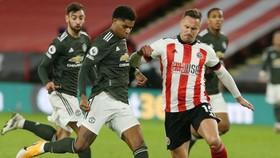 Marcus Rashford tỏa sáng giúp Man.United giành chiến thắng hệ trọng. Ảnh: Getty Images