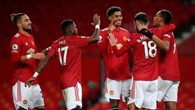 Man.United lên vị trí thứ 3 khi bước vào Giáng sinh. Ảnh: Getty Images