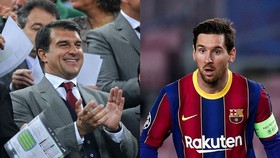 Cựu Chủ tịch Joan Laporta tin sẽ giữ được Lionel Messi khi đắc cử.