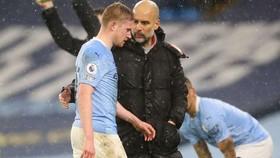 Man.City mất nguồn cảm hứng Kevin De Bruyne ngay vào thời điểm quá hệ trọng. Ảnh: Getty Images
