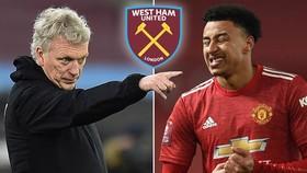 Jesse Lingard sẽ tiếp thêm chất lượng cho West Ham trong lượt về.