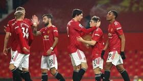 Man.United đã cân bằng kỷ lục chiến thắng lớn nhất lịch sử Premier League. Ảnh: Getty Images