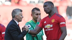 Paul Pogba có cải thiện rõ ràng trong thái độ và những màn trình diễn. Ảnh: Getty Images