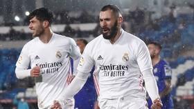 Karim Benzema vẫn là nguồn cảm hứng chính của Real Madrid.