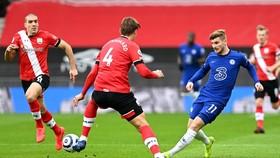 Chelsea bất lực chia điểm ở Southampton. Ảnh: Getty Images