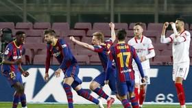 Barca đã có tạo nên màn ngược dòng khó tin.