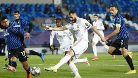 Karim Benzema đã tiếp tục chuỗi trận ghi bàn ấn tượng. Ảnh: Getty Images