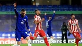 Hakim Ziyech truyền cảm hứng cho chiến thắng 2-0 trước Atletico. Ảnh: Getty Images