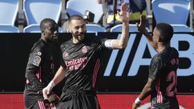 Năng lực ghi bàn tuyệt hảo của Karim Benzema đang tiếp tục.