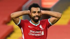 Mohamed Salah đang thất vọng vì mùa giải sa sút của Liverpool. Ảnh: Getty Images