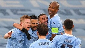 Man.City vào chung kết Champions League lần đầu tiên trong lịch sử. Ảnh: Getty Images