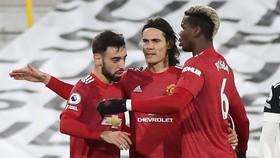 Bruno Fernandes tin những cầu thủ như Paul Pogba hay Edinson Cavani mới thiết lập đẳng cấp cho Man.United. Ảnh: Getty Images